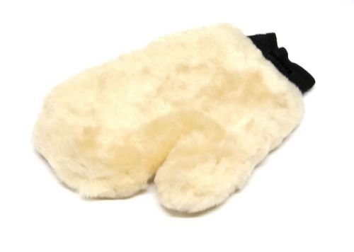 Barnwell Lambswool Wash Mitt with Thumb